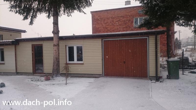 Budowa Garażu Dach Pol